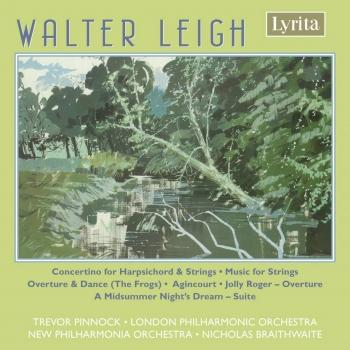 Cover Leigh: Concertino for Harpsichord & Works for Orchestra