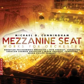 Cover Cunningham: Mezzanine Seat – Works for Orchestra