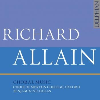 Cover Allain: Choral Music