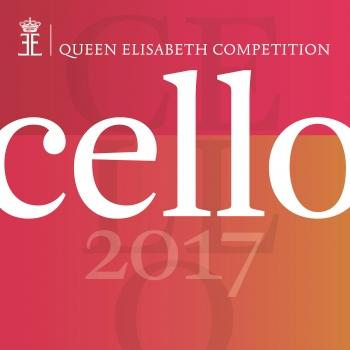 Cover Queen Elisabeth Competition - Cello 2017