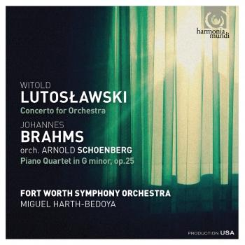 Cover Lutoslawski: Concerto for orchestra - Brahms: Piano Quartet in G Minor