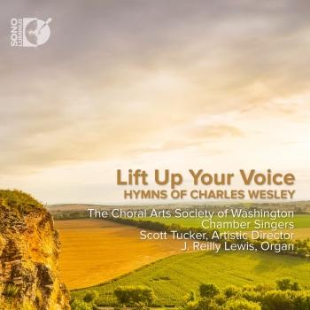 Cover Life Up Your Voice: Hymns of Charles Wesley