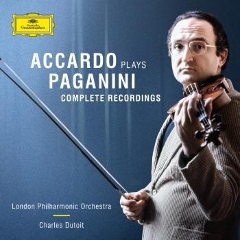 Cover Accardo Plays Paganini - The Complete Recordings
