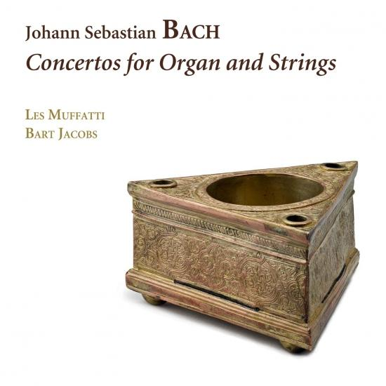 Cover Bach: Concertos for Organ and Strings