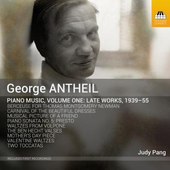 Cover Antheil: Piano Music, Vol. 1