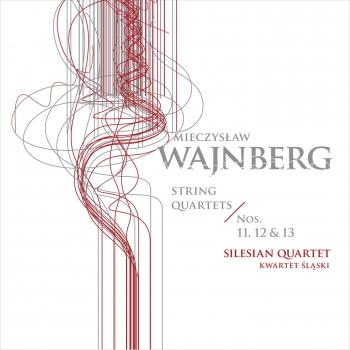 Cover Weinberg: String Quartets Nos. 11-13