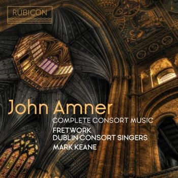 Cover John Amner: Complete Consort Music