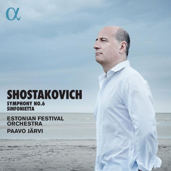 Cover Shostakovich: Symphony No. 6 & String Quartet No. 8 (Arr. A. Stasevich for String Orchestra & Timpani)
