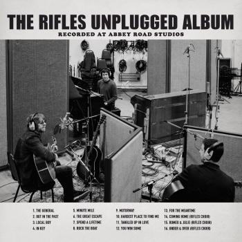 Cover The Rifles Unplugged Album: Recorded at Abbey Road Studios