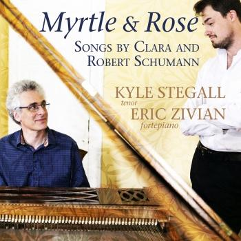 Cover Myrtle and Rose: Songs by Clara and Robert Schumann