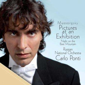 Cover Mussorgsky: Pictures at an Exhibition - Night on the Bare Mountain