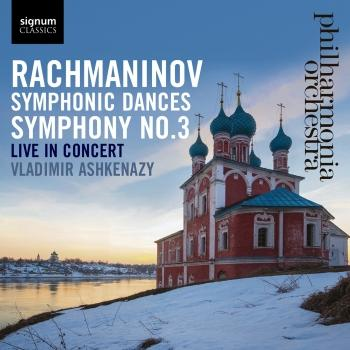 Cover Rachmaninov: Symphony No. 3 - Symphonic Dances