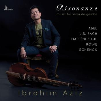 Cover Risonanze: Music for viola da gamba