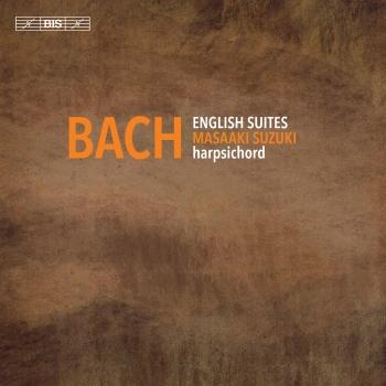 Cover J. S. Bach: English Suites