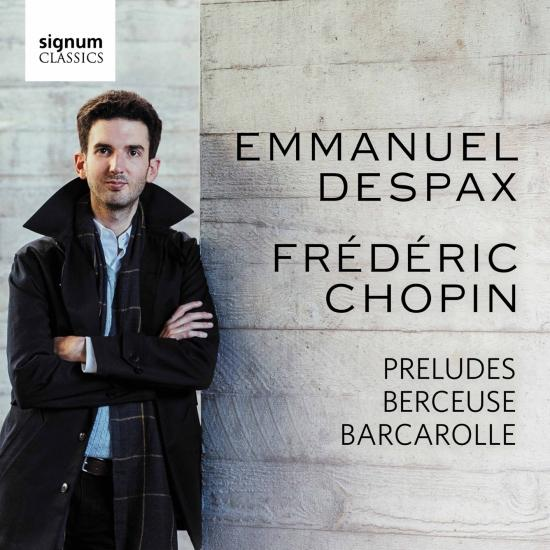 Cover Chopin: 24 Preludes, Berceuse, Barcarolle