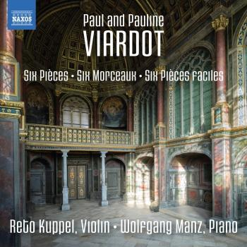 Cover Paul & Pauline Viardot: Works for Violin & Piano