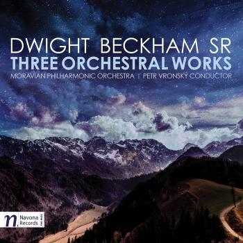 Cover Dwight Beckham: Three Orchestral Works