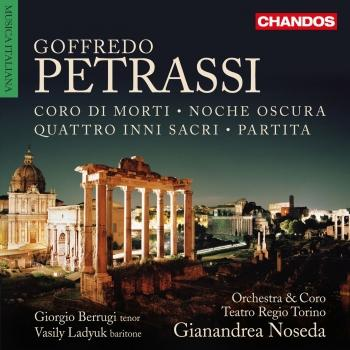 Cover Petrassi: Works for Voices & Orchestra