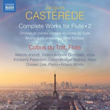 Cover Castérède: Complete Works for Flute, Vol. 2