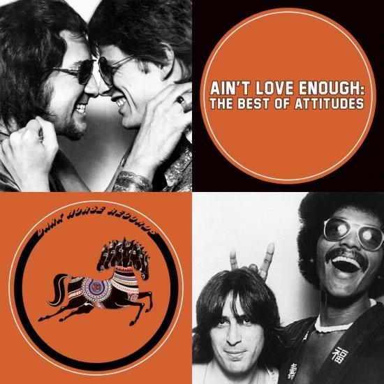 Cover Ain't Love Enough: The Best Of Attitudes (Remastered)