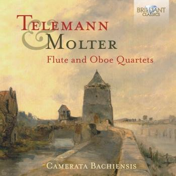 Cover Telemann & Molter: Flute and Oboe Quartets