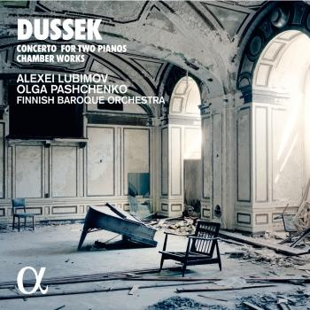 Cover Dussek: Concerto for Two Pianos & Chamber Works