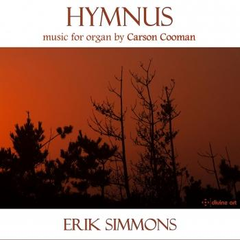 Cover Hymnus: Music for Organ by Carson Cooman
