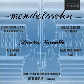 Cover Concerto for Piano and Orchestra Number 1 in G minor Op. 25, Concerto for Violin, Piano and Orchestra in D minor