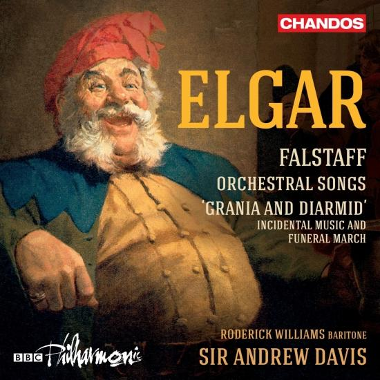 Cover Elgar: Falstaff, Orchestral Songs and Grania & Diarmid