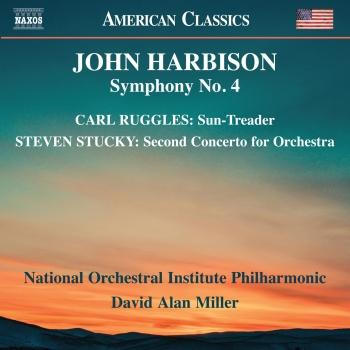 Cover Harbison, Ruggles & Stucky: Orchestral Works