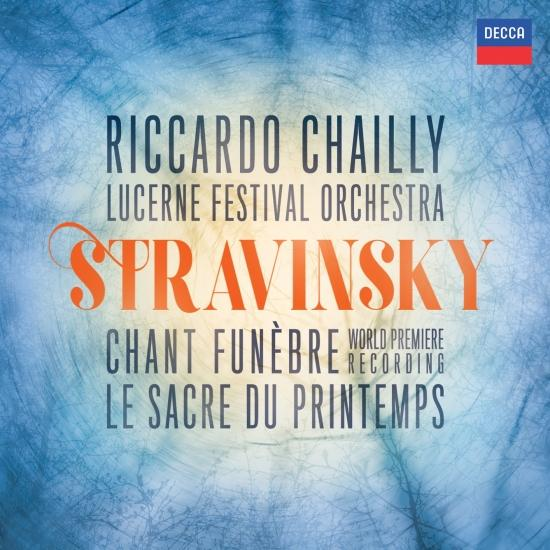 Cover Stravinsky: The Rite of Spring; Scherzo fantastique, Chant funèbre; Faun & Shepherdess