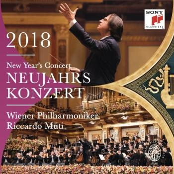 Cover Neujahrskonzert 2018 / New Year's Concert 2018