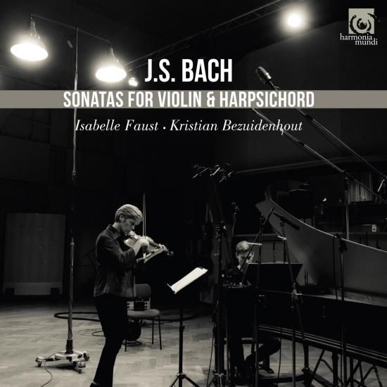 Cover J.S. Bach: Sonatas for Violin and Harpsichord