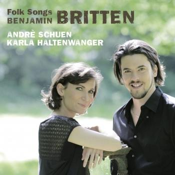 Cover Britten: Four Folk Songs