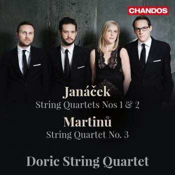 Cover Janáček: String Quartets Nos. 1 & 2 - Martinů: String Quartet No. 3