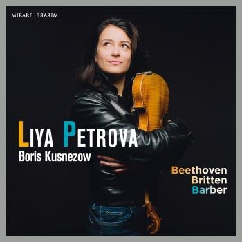 Cover Beethoven, Britten & Barber