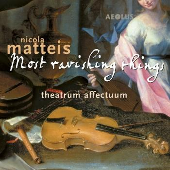 Cover Nicola Matteis: Most ravishing things (Music from the Books of Ayres)