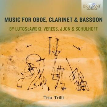 Cover Music for Oboe, Clarinet & Bassoon by Lutoslawski, Veress, Juon & Schulhoff