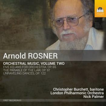 Cover Rosner: Orchestral Music, Vol. 2