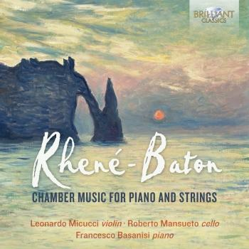 Cover Rhené-Baton: Chamber Music for Piano and Strings