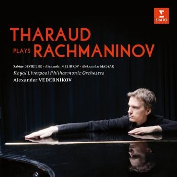 Cover Tharaud plays Rachmaninov