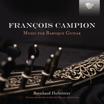Cover Campion: Music for Baroque Guitar