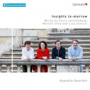 Cover Insights To-Morrow: Works by Viera Janárčeková, Márton Illés & Lisa Streich