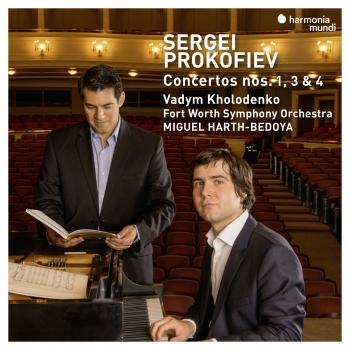Cover Prokofiev: Piano Concertos No. 1, 3 & 4