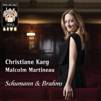 Cover Schumann / Brahms - Wigmore Hall Live