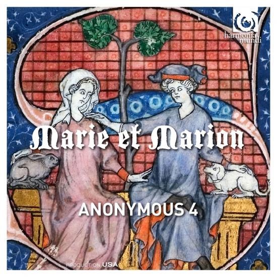 Cover Marie et Marion - Motets & Chansons from 13th Century France