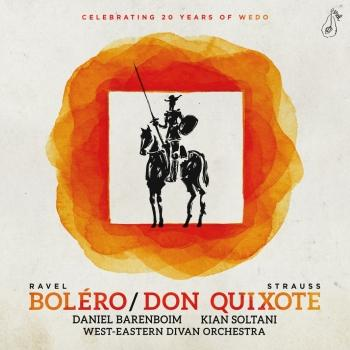 Cover R. Strauss: Don Quixote – Ravel: Bolero