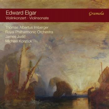 Cover Elgar: Violin Concerto in B Minor & Violin Sonata in E Minor