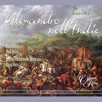 Cover Pacini: Alessandro nell'Indie (Remastered)