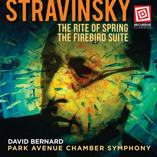 Cover Stravinsky: The Rite of Spring & The Firebird Suite